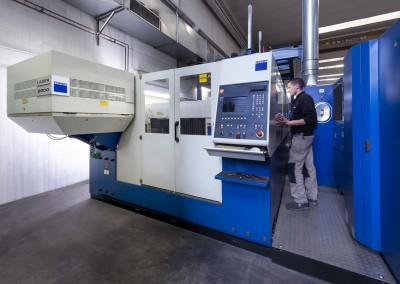 Siggia - macchina taglio laser lamiera