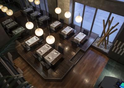 Ristorante giapponese - sala interna