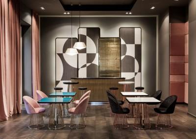 Gio Pagani - mobili con struttura in tubi metallici