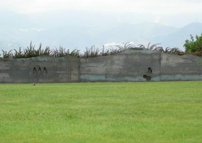 Sogno - installazione nel parco di arte ambientale La Marrana