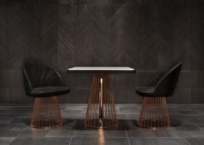 Gio Pagani - mobili con struttura in metallo