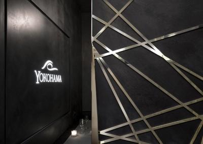 Ristorante Sushi Yokohama - particolare decorazione in metallo