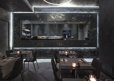 Ristorante Sushi Yokohama - la cucina